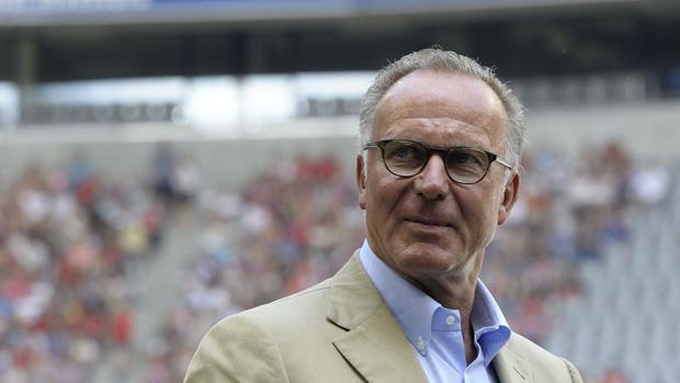 El presidente del Consejo Directivo del Bayern, Karl-Heinz Rummenigge