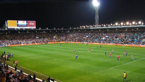 Estadio El Helmántico de Salamanca