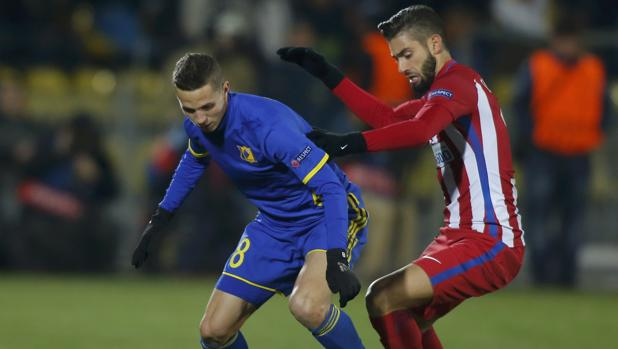 Rostov-Atlético:  Carrasco sigue en ebullición