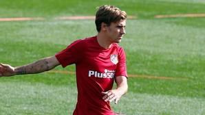 El Atlético ve una «buena evolución» en la lesión de Griezmann