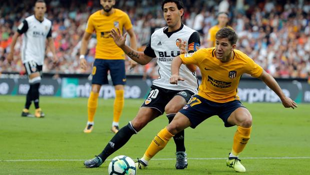 Resultado Valencia-Atlético:  Intensidad sin goles en Mestalla