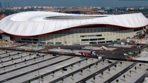 El nuevo estadio del Atlético de Madrid
