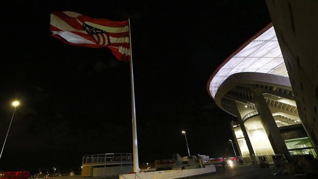 Espectacular aspecto del Wanda Metropolitano