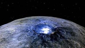 Resuelto el misterio de los puntos brillantes sobre Ceres