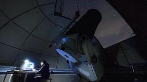 Interior del observatorio astronómico de La Hita