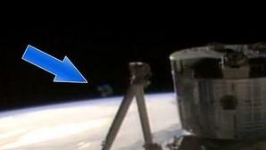 El bulo de un ovni cerca de la estación espacial