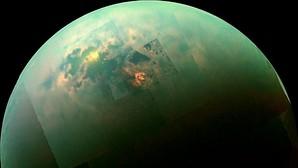 Un mar de metano puro en Titán