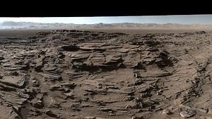 Impresionante panorámica de Marte fotografiada por el Curiosity