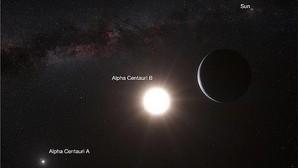 Un disparo interestelar para llegar a Alfa Centauri