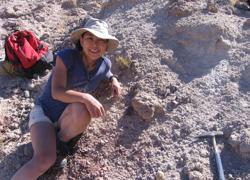 Akiko Shinya, descubridora del dinosaurio Gualicho
