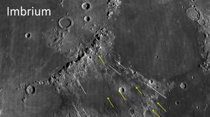 Un joven mundo chocó contra la Luna y creó uno de sus grandes mares