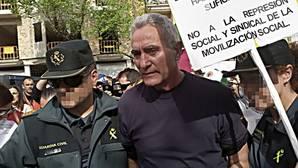 Cañamero, un jornalero con un largo historial de detenciones, denuncias, querellas, juicios y condenas