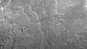 Hallan cuencas de antiguos ríos gigantescos en Marte