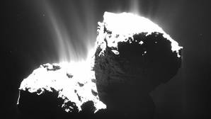 Analizan el polvo primigenio del Sistema Solar en el cometa 67P