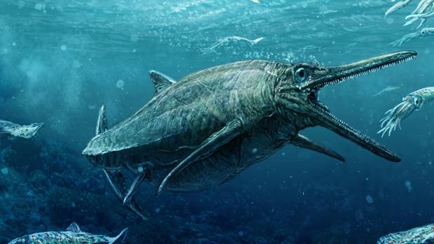 Recreación del monstruo de los lagos Storr