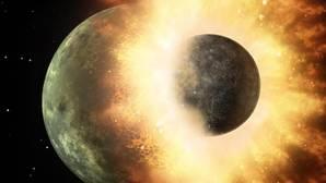Un planeta parecido a Mercurio chocó contra la Tierra... y trajo algo consigo
