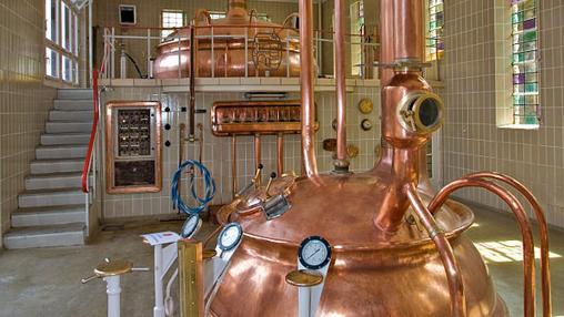 Antigua fábrica de cerveza de la abadía de Nôtre Dame de Saint-Remy, en Bélgica
