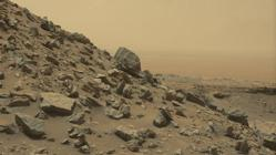 Las imágenes fueron tomadas por la cámara Mastcam del Curiosity