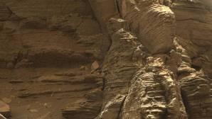 El Curiosity ve en Marte unas formaciones rocosas espectaculares