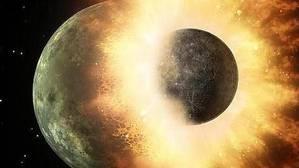 La Luna es un pedazo pulverizado de la Tierra