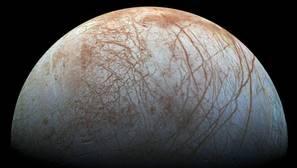 La NASA descubre siete grandes géiseres de agua en la luna Europa de Júpiter