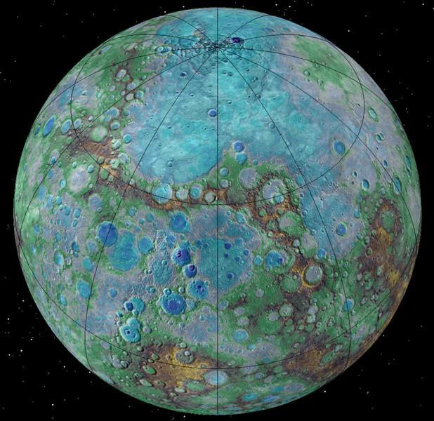 Mercurio sigue menguando hoy en día