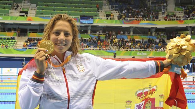 Nuria Marqués gana su primer oro paralímpico