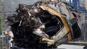Cobra fuerza la tesis del exceso de velocidad en el accidente de tren en O Porriño