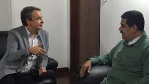 Zapatero vuelve a reunirse con Maduro para impulsar el diálogo político entre gobierno y oposición