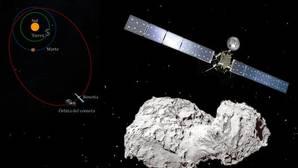 Así será el «suicidio» de la nave Rosetta