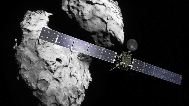 SONDA ROSETTA:  En directo: Rosetta impacta sobre el cometa en un final histórico