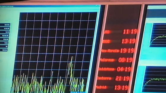 Y minutos más tarde la señal ha desaparecido. Confirma que Rosetta ha aterrizado y ya no hay comunicación