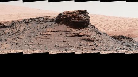 Los montículos de Murray, en Marte