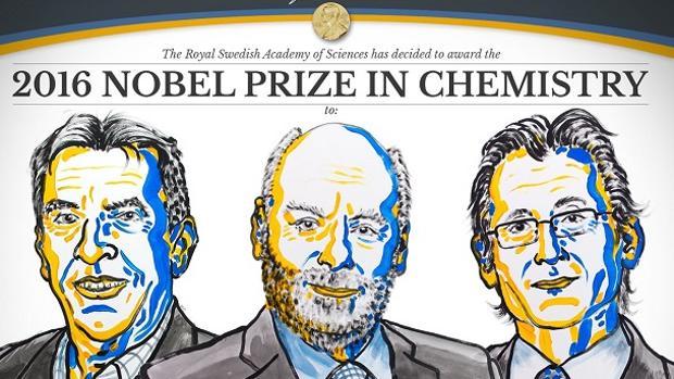 Los laureados con el Nobel de Química