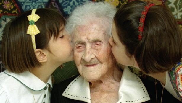 La francesa Jeanne Calment llegó a los 122 años y se convirtió en el ser humano más longevo del planeta