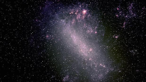 La Gran Nube de Magallanes, la más brillante de las galáxias satélite de la Vía Láctea