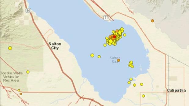 En cuestión de horas se registraron 96 pequeños terremotos, lo que hizo temer un «Big one», un gran terremoto, en la parte sur de la falla, una zona que ha estado dormida durante más de 300 años