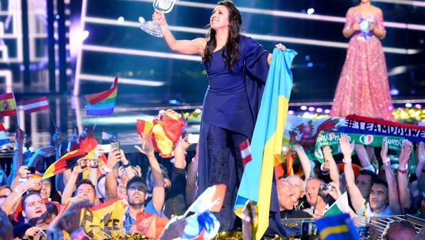 La ucraniana Jamala venció en la gran final celebrada en el Globen Arena de Estocolmo