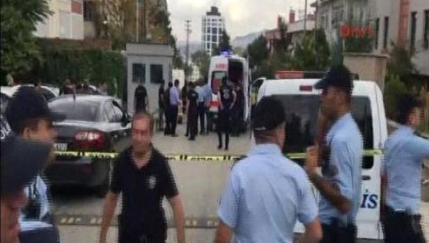 La policía turca repele un ataque a la embajada de Israel en Ankara