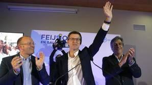La victoria de Feijóo refuerza a Rajoy frente a un PSOE bajo mínimos