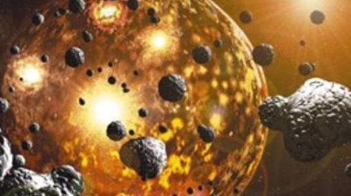 El nacimiento del Sistema Solar estuvo marcado por las colisiones
