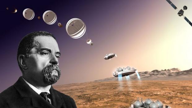 El módulo de la misión de la ESA ha sido bautizado en honor al astrónomo italiano Giovanni Schiaparelli