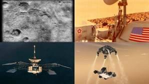 Marte, un planeta fascinante repleto de naves espaciales