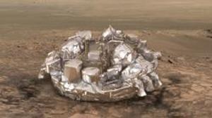 Así será el aterrizaje de la ExoMars en Marte