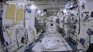 El impresionante vídeo que muestra el interior de la Estación Espacial Internacional