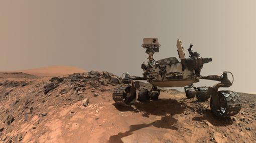 El rover Curiosity, de la NASA