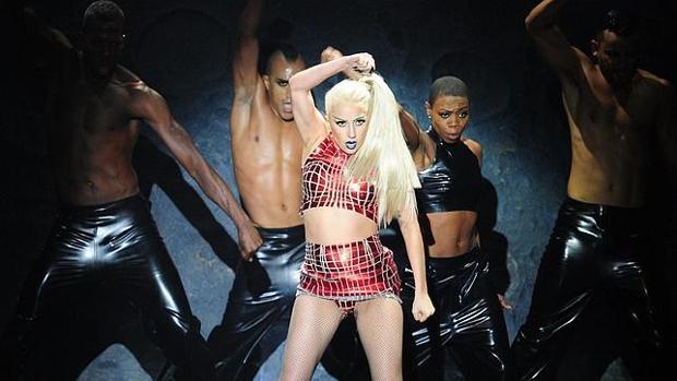 Lady Gaga, en una actuación