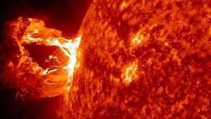 Un bombazo solar rompió el escudo magnético de la Tierra en 2015