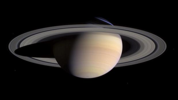 Saturno, visto por la nave Cassini