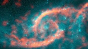 Observan un enorme «tsunami cósmico» avanzando dentro de una galaxia